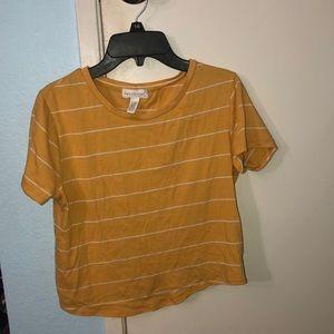 Tillys yellow shirt size S